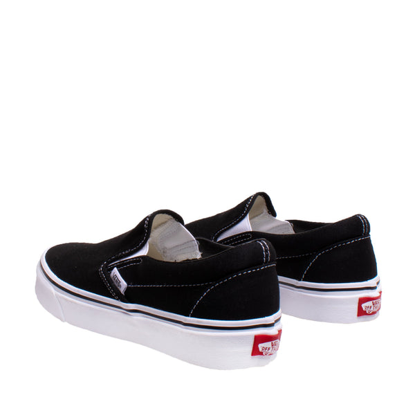 Unisex Classic Slip-on Sneaker - Black
