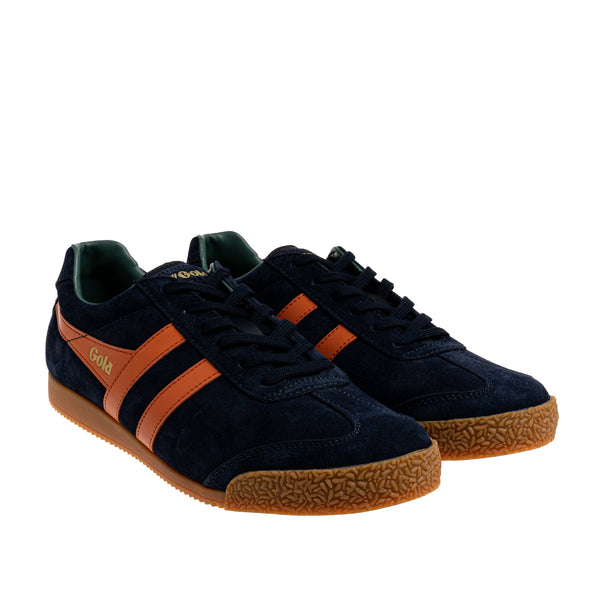 Classics Men's Harrier Suede Sneakers - Navy/Moody Orange/Sage