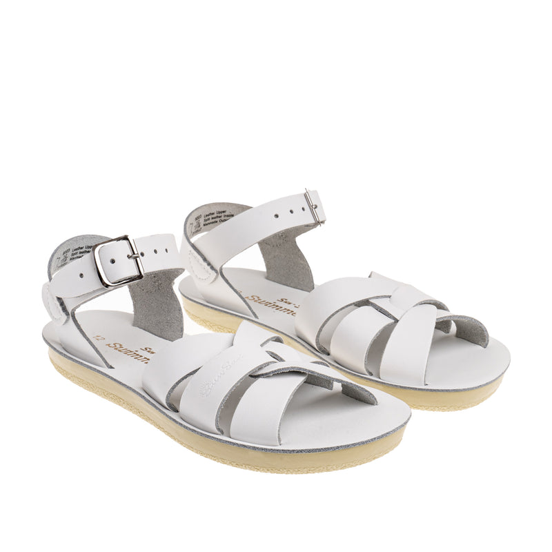 Youth Swimmer Sandal - White