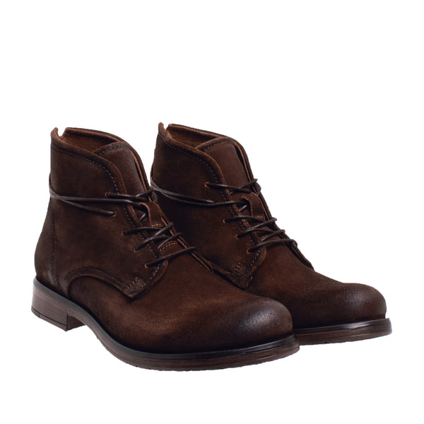 Dunham Long Lace Chukka Boot - Brown