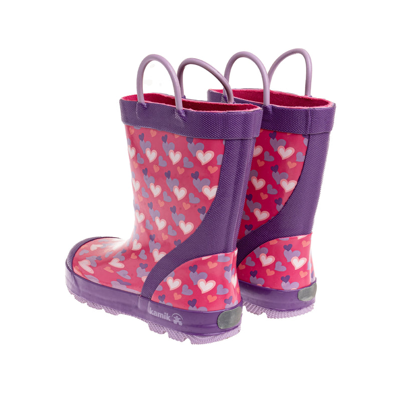 Youth Lovely Rain Boot - Pink