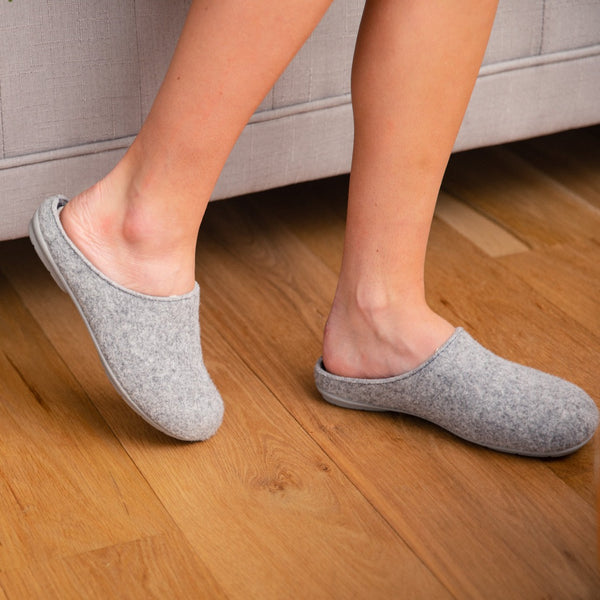 Women's Malta This Was a Bottle Sustainable Slipper - Grey