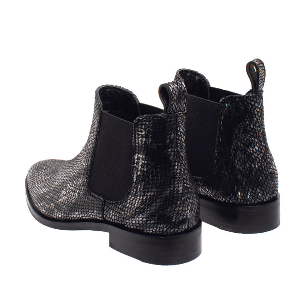 Fayette Tapered Toe Chelsea Boot - Python