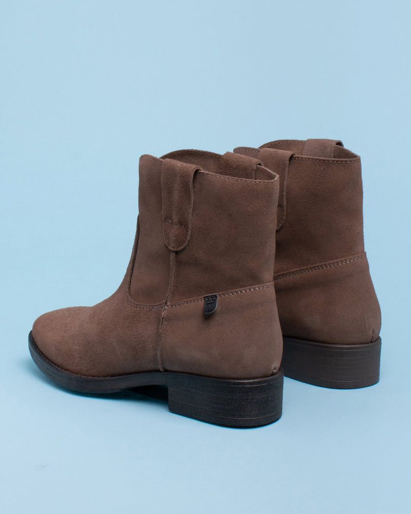 Gamo Short Western Bootie - Taupe