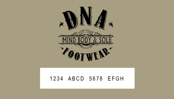 DNA Footwear On-Line Gift Card