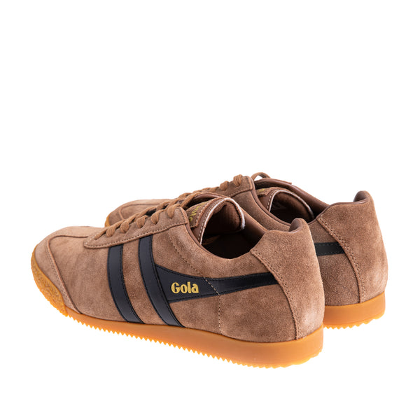 Men's Harrier Suede Sneaker - Tobacco/Black