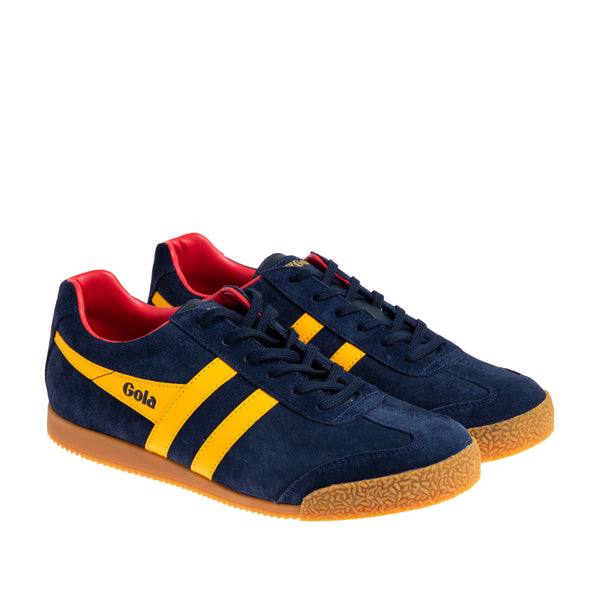Men's Harrier Suede Sneaker - Navy/Sun