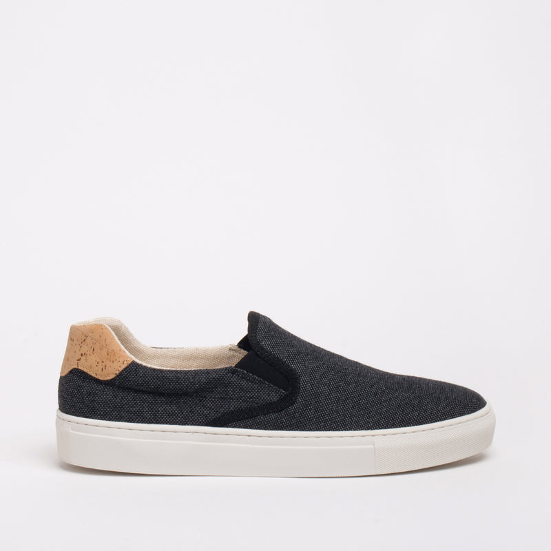 Greenpoint Sustainable Slip-on Sneaker - Coal - DNAFOOTWEAR