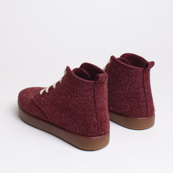 Love TWAB Hi-top Sneaker - Burgundy