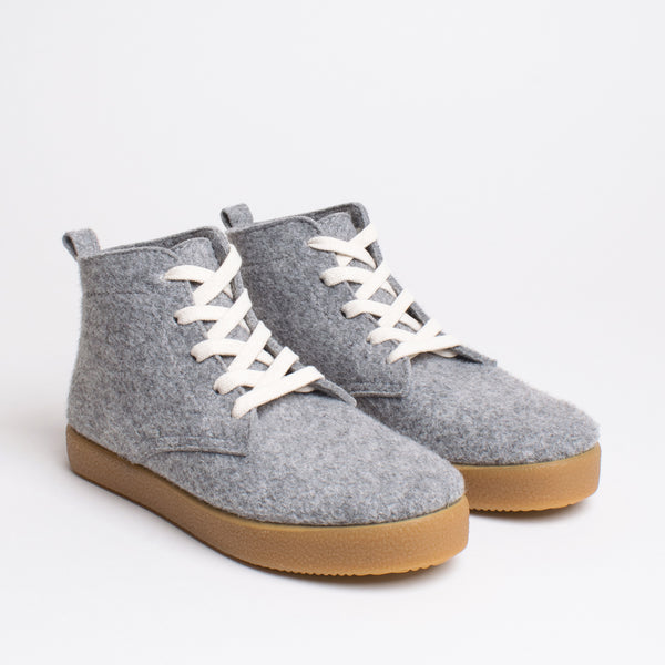 Love TWAB Hi-top Sneaker - Light Grey