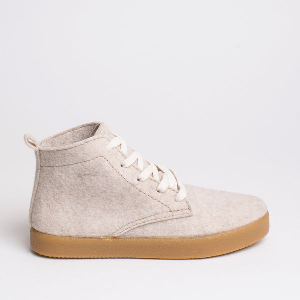 Love TWAB Hi-top Sneaker - Natural