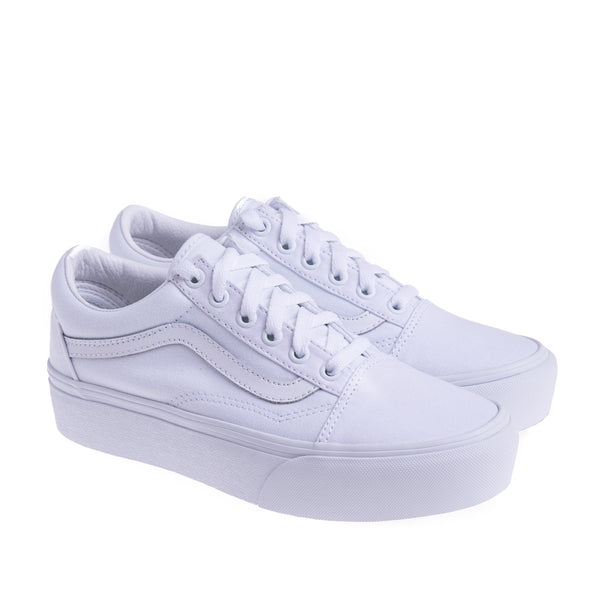 Women's Old Skool Platform sneaker - White