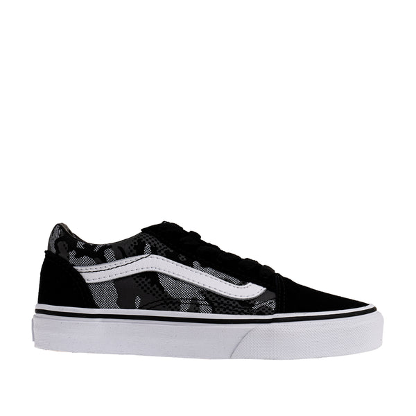 Kids Old Skool Camo Sneaker - Black Camo