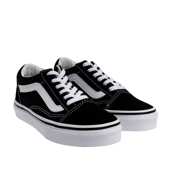 Kids Old Skool Lace up Sneaker - Black/White
