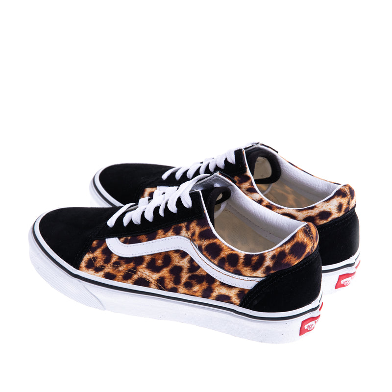 Unisex Old Skool Leopard