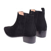 Payton Low Heel Chelsea Boot- Black - DNAFOOTWEAR