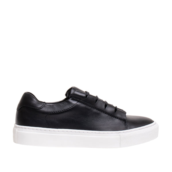 Paidge Peekaboo Lace Sneaker - Black