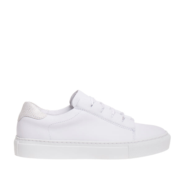 DNA Footwear Peekaboo Lace Sneaker - White
