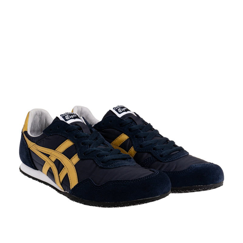 Men's Serrano Sneaker - Navy/Gold