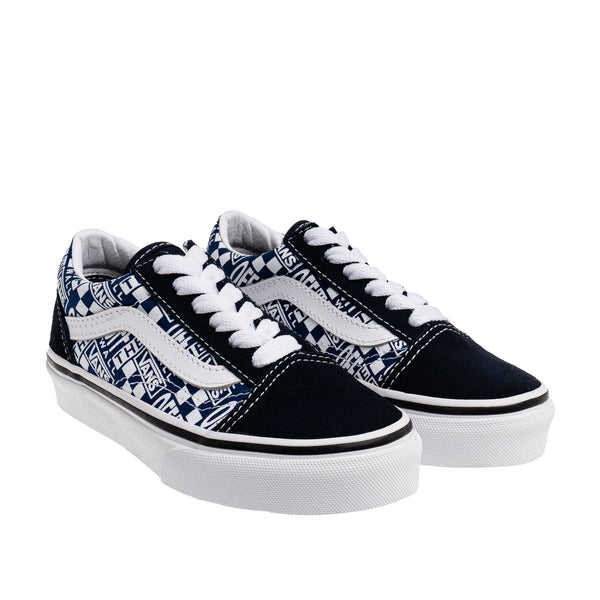 Kid's Old Skool Sneaker - Blue/White