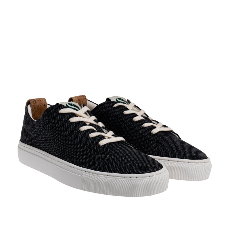 Willow2 Sustainable Lace Sneaker - Coal