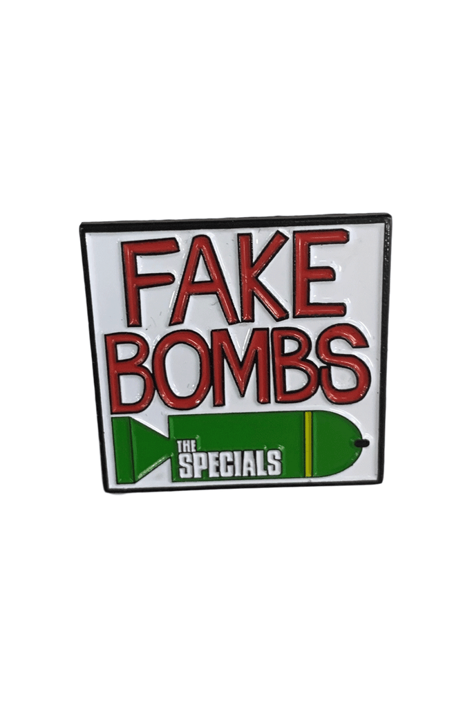 THE SPECIALS FAKE BOMBS ENAMEL PIN