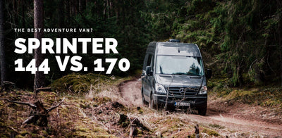 Sprinter 144 vs 170  - Which one is the better adventure van?