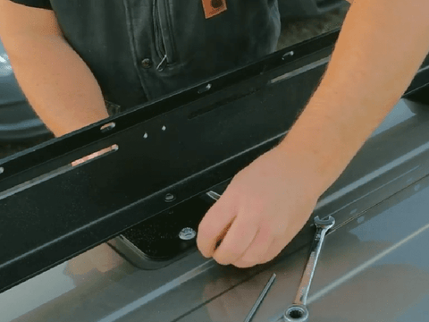 Step 3 - Ford Transit Roof Rack Install