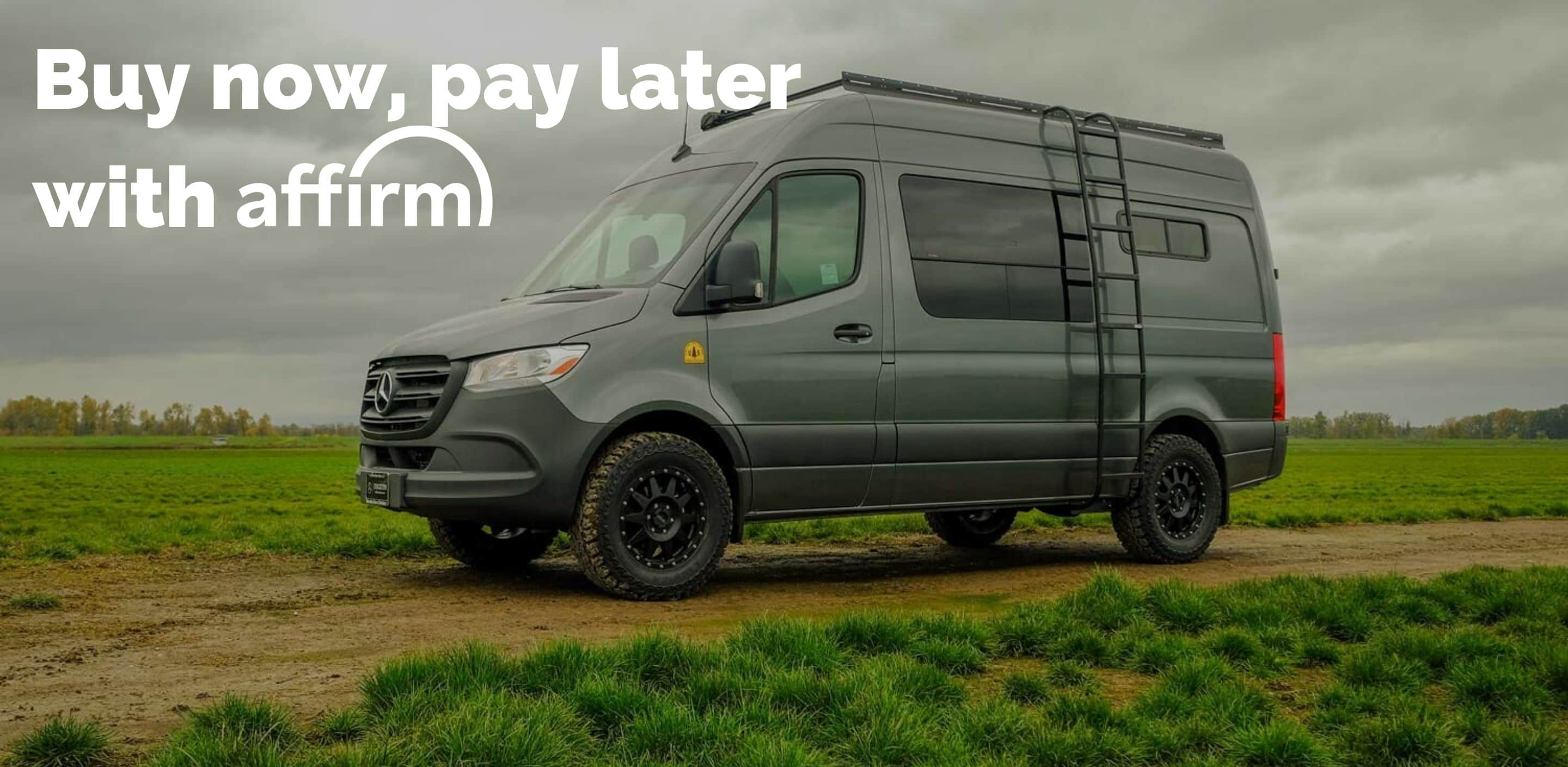 Affirm Financing on Flatline Van Co.