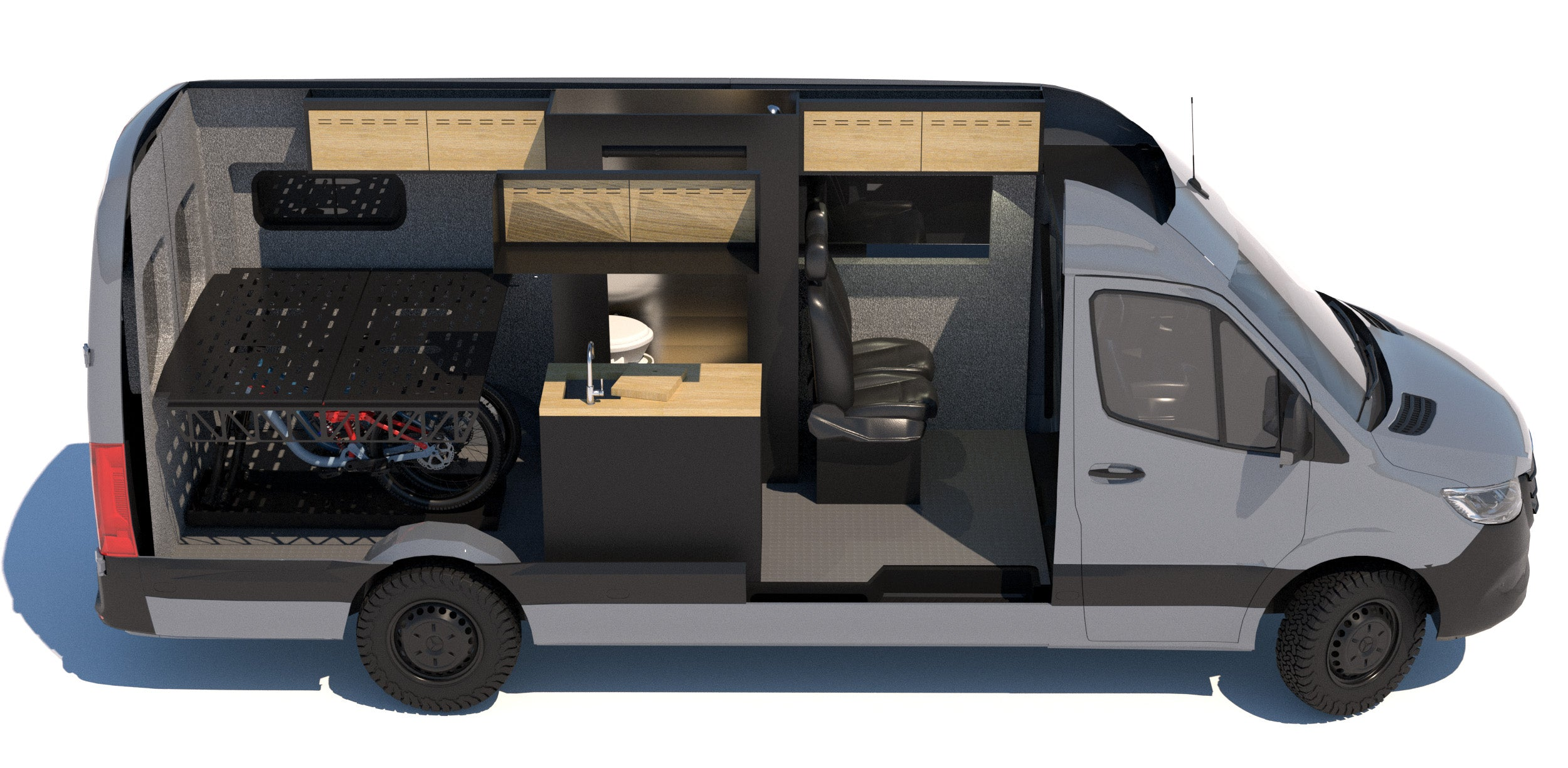 Sprinter 170 with Flarespace Bed System