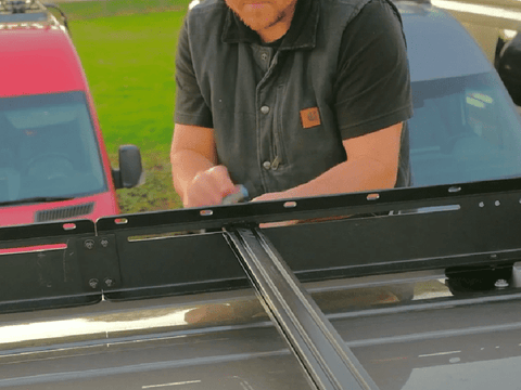 Step 5 - Ford Transit Roof Rack Install
