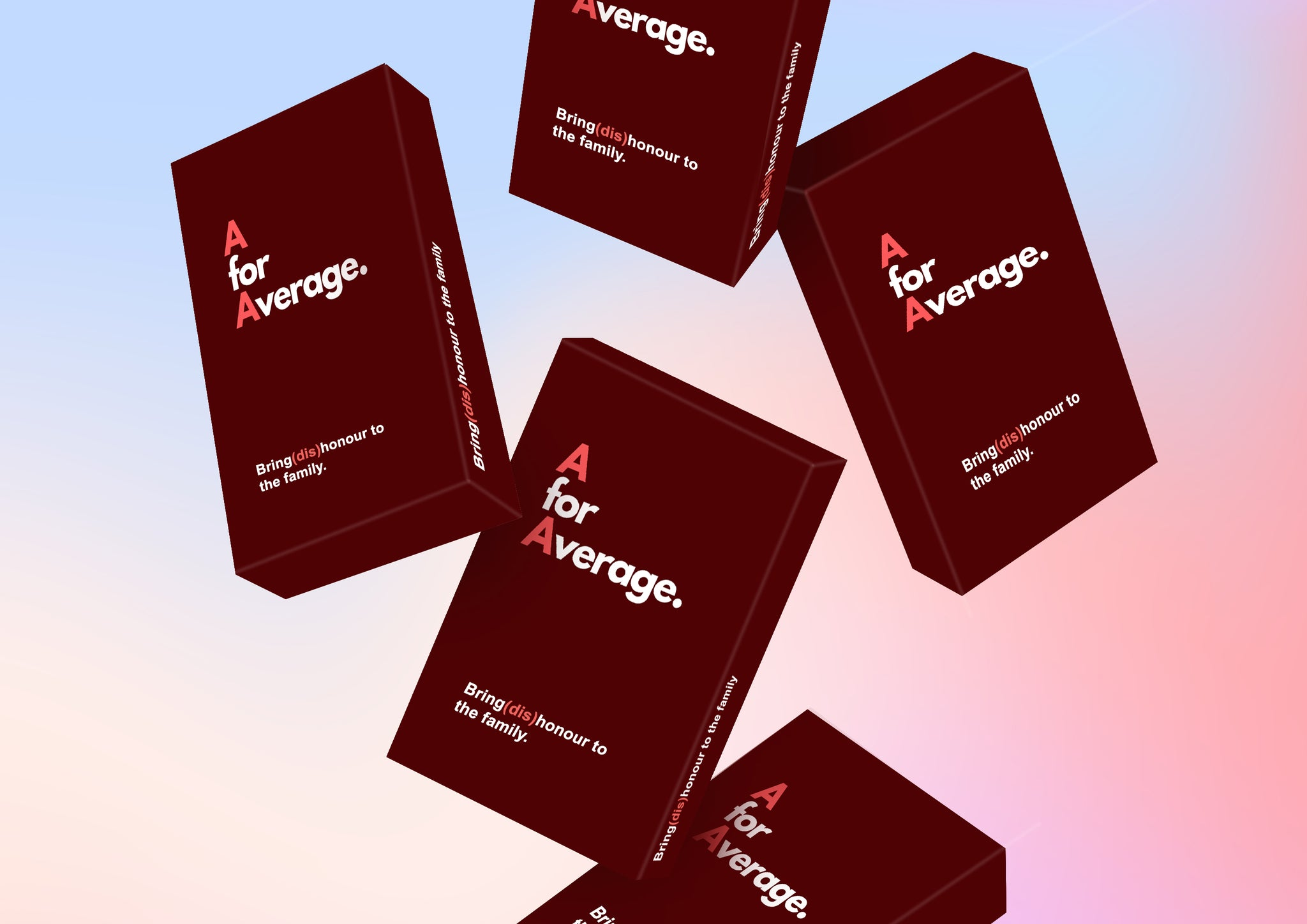 A for Average: The Card Game