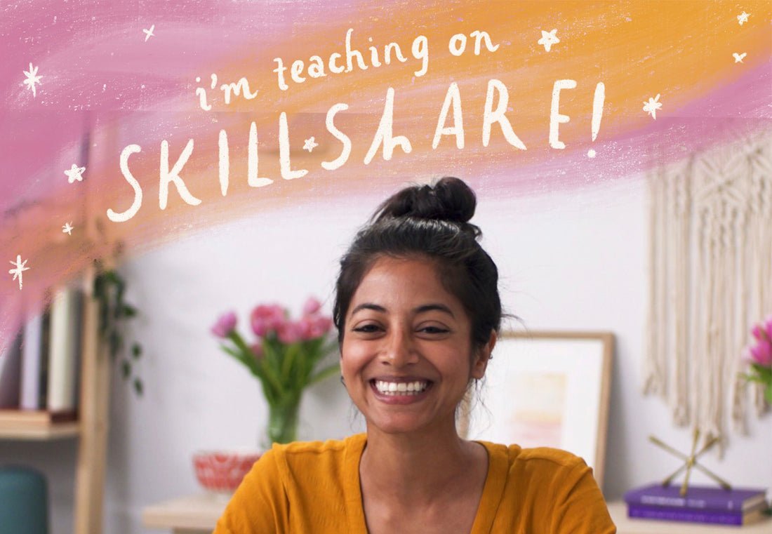 Skillshare class! | 5 Exercises for Self-Discovery