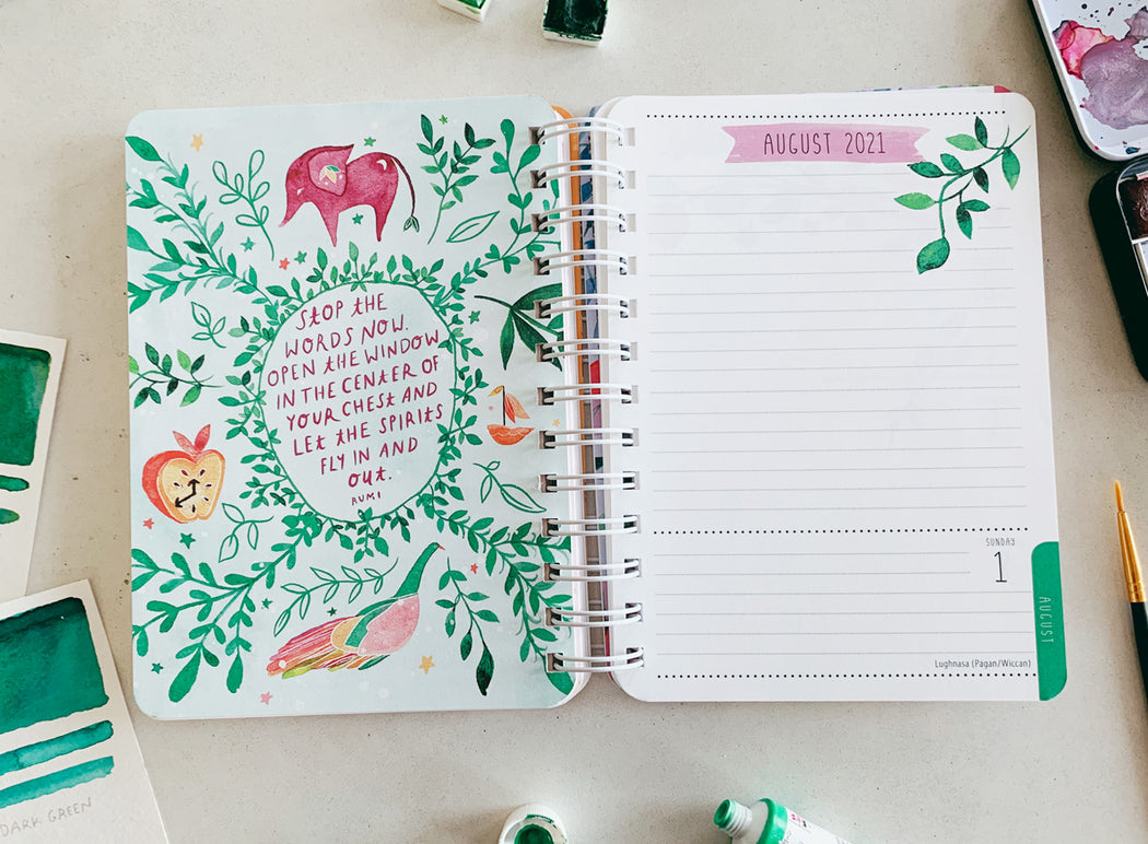 The Beginning is Always Today | 2020-2021 Weekly Planner