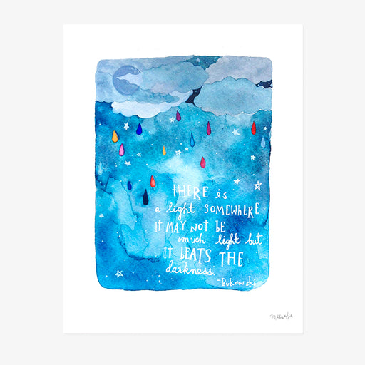 There is a Light Somewhere | ART PRINT