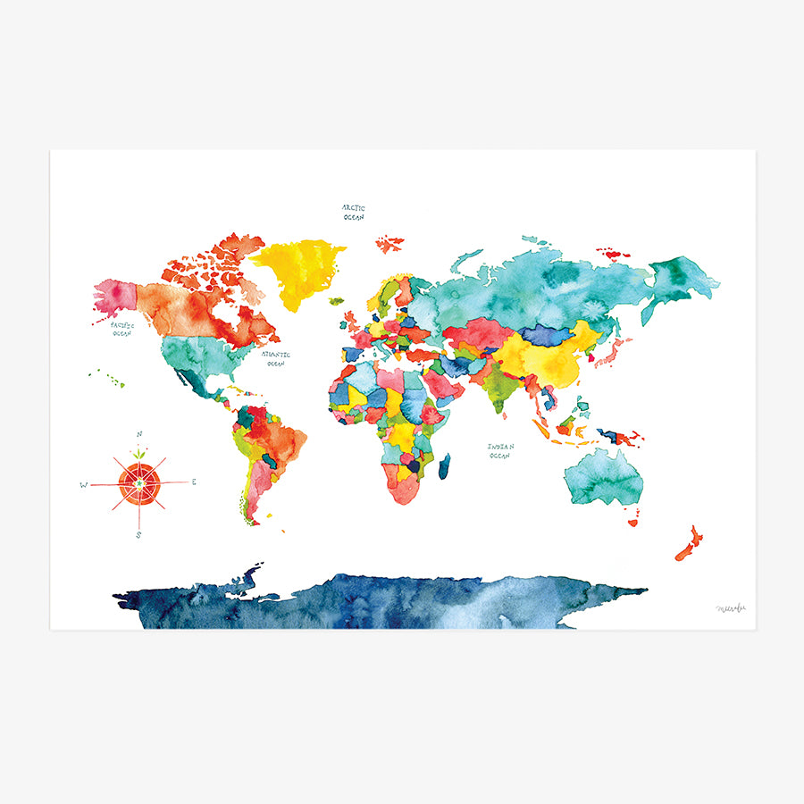 World Map | ART PRINT