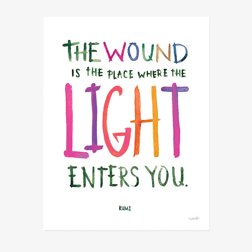 The Light Enters You | ART PRINT