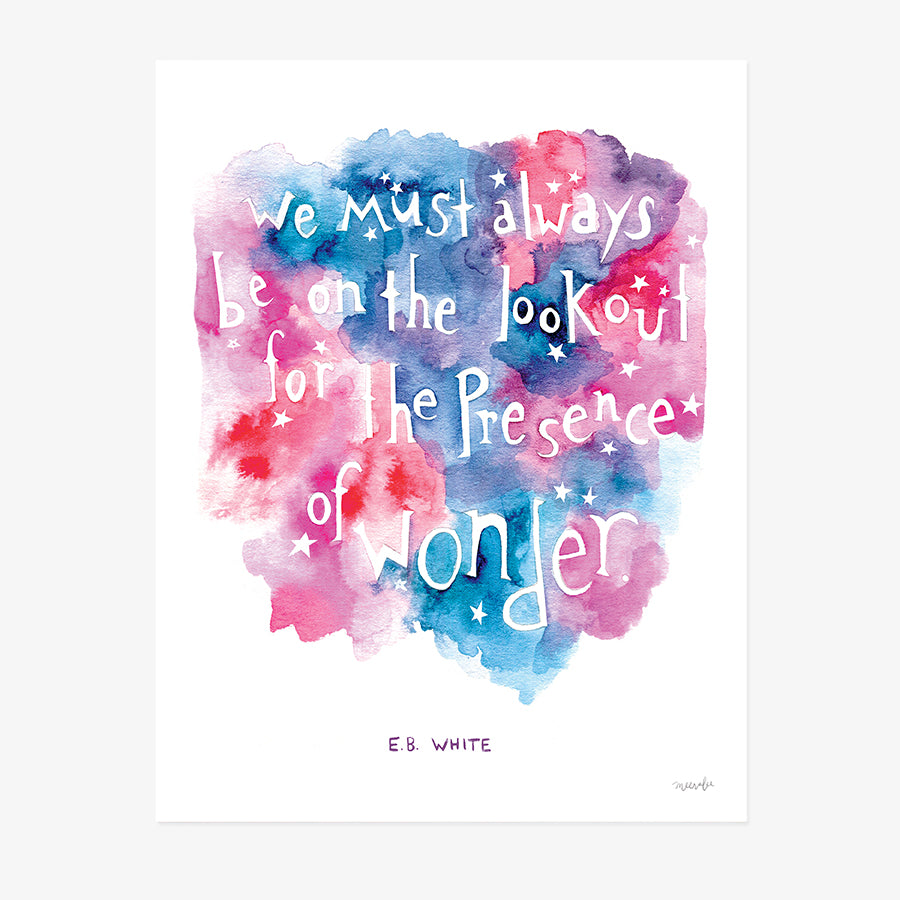 On the Lookout for Wonder | ART PRINT