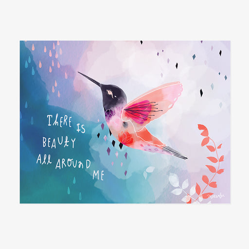 There is Beauty All Around Me | ART PRINT