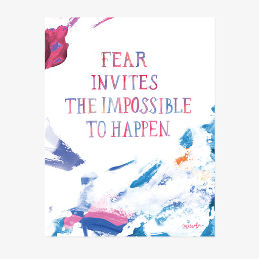 The Impossible Happens | ART PRINT