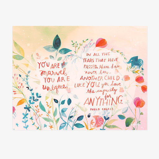 You Are a Marvel | ART PRINT