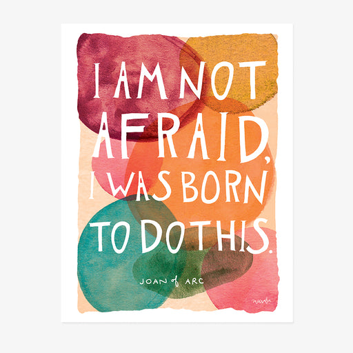 Born to Do This | ART PRINT