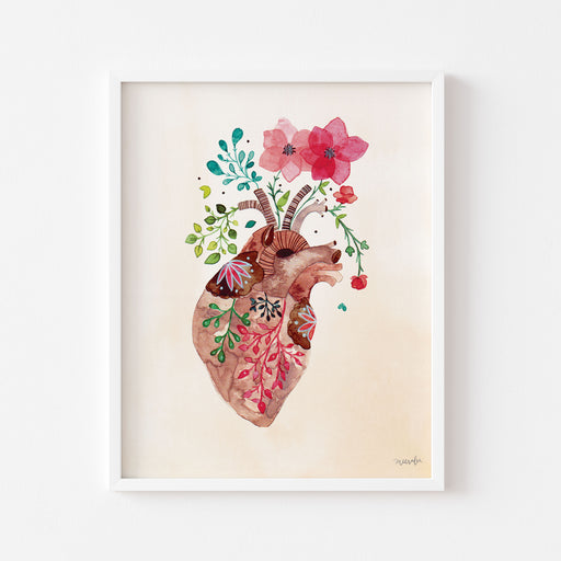 Flourishing Heart #1 | ART PRINT