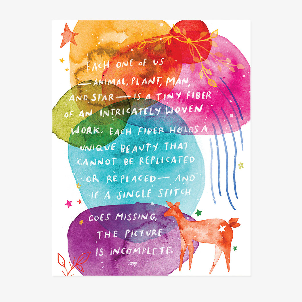 You Cannot Be Replaced | ART PRINT