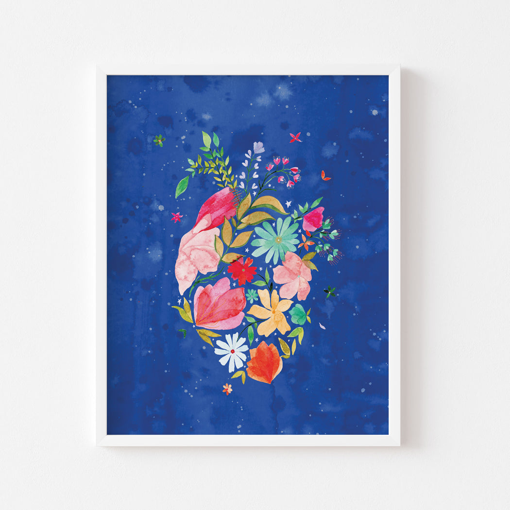 Flourishing Heart #4 | ART PRINT