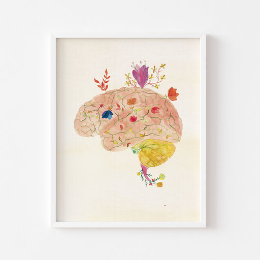 Flourishing Brain | ART PRINT