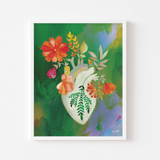 Flourishing Heart #2 | ART PRINT