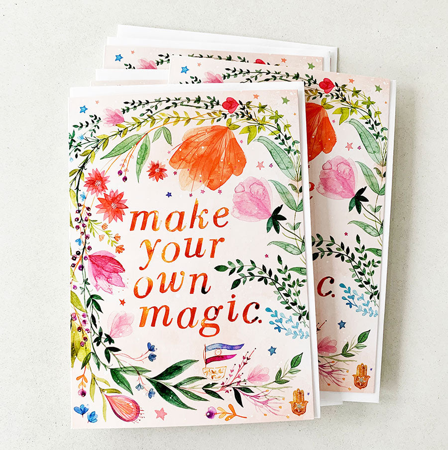 Make Your Own Magic | Greeting Card (Set of 6)
