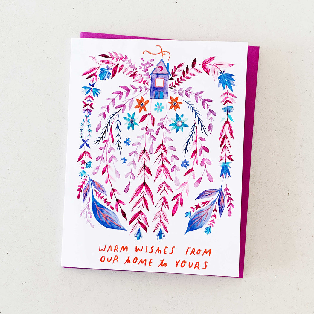 Warm Wishes From Our Home to Yours | GREETING CARD (Boxed Set)