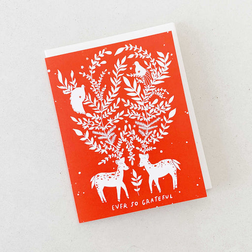 Ever So Grateful (Winter Deer) | GREETING CARD (Boxed Set)